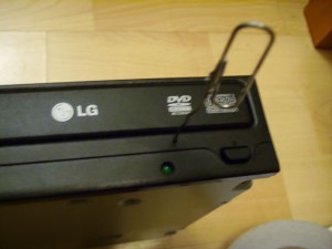 DVD Drive not Opening